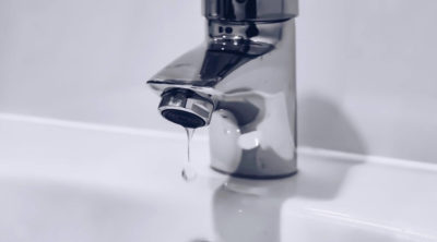 water damage restoration faucet water