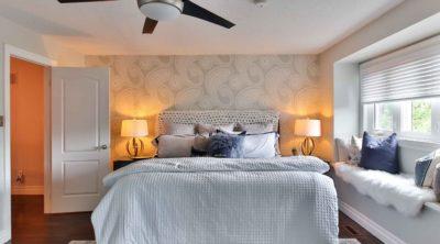water damage ceiling bedroom