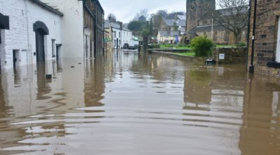 water damage company town flood
