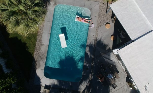 pool maintained by plumbers in palm springs